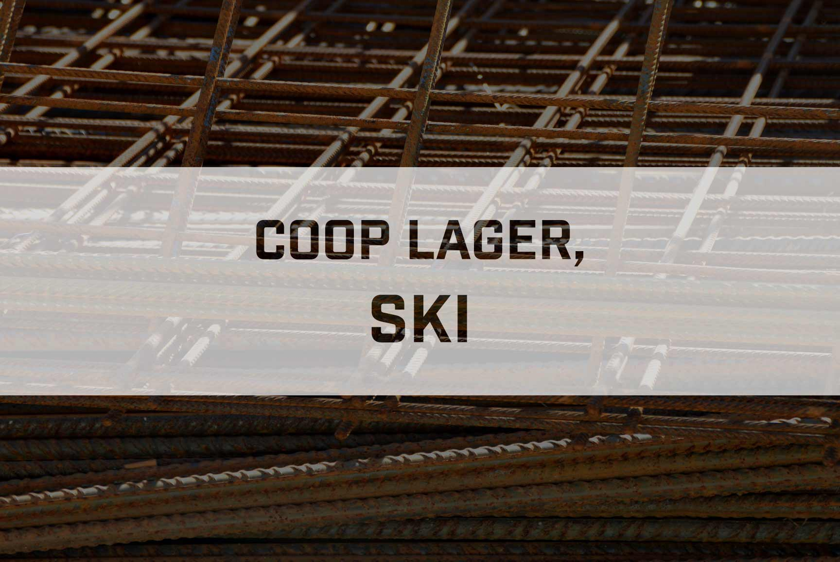 Prosjekt Coop Lager, Ski